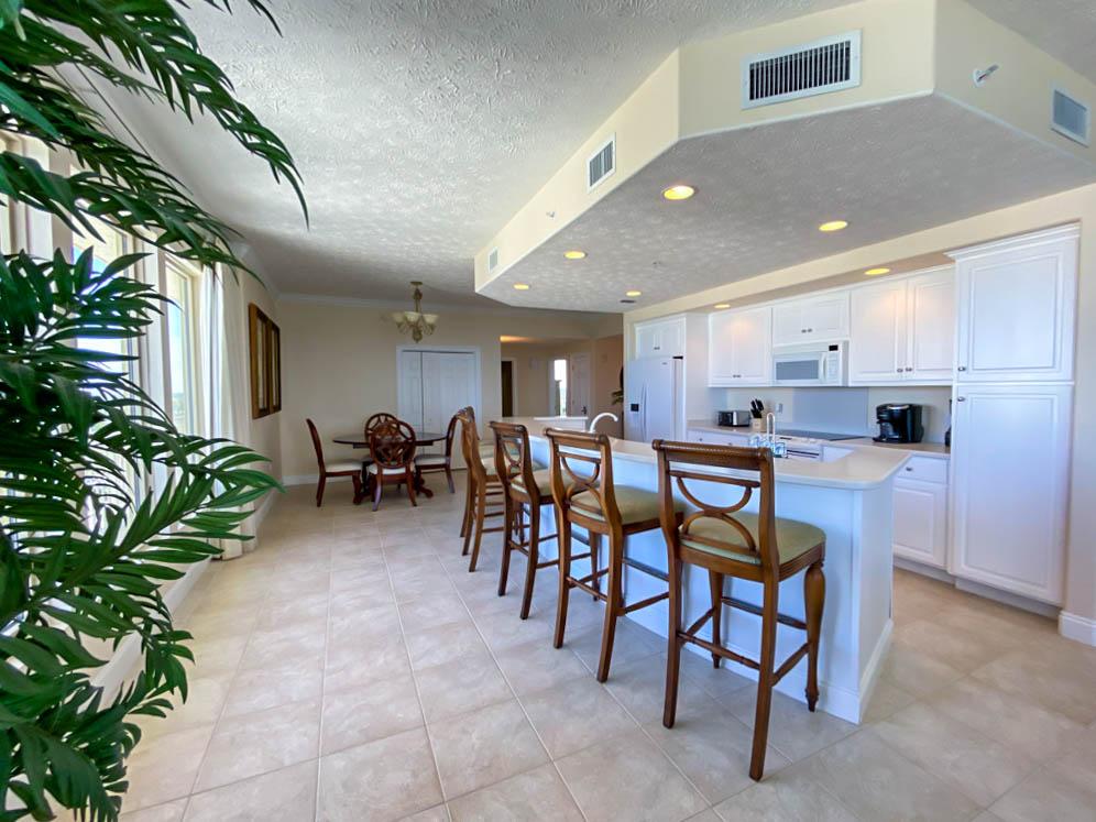 seating at kitchen island