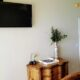 tv on wall