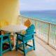 balcony view of beach and Gulf